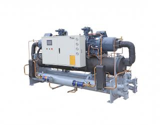Rotary-screw compressors chiller